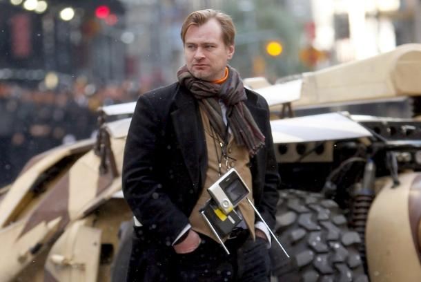 Christopher Nolan On-Set