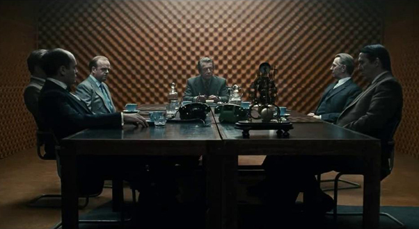 In Tinker Tailor Soldier Spy Hoyte managed to make men sitting in rooms more mysterious and thrilling than most horror movies