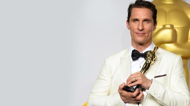 Matthew McConaughey Oscar