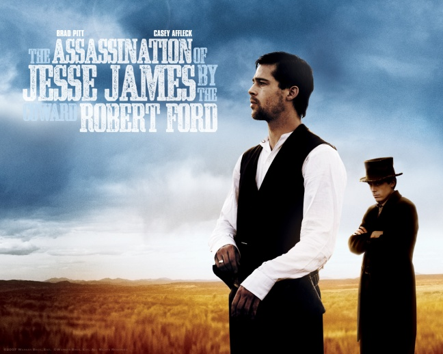 The Assasination of Jesse James by the coward Robert Ford wallpaper