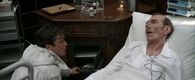 Inception's Hospital Bed Scene