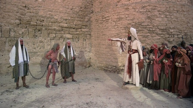Life of Brian was Monty Python's silly take on religion and belief.